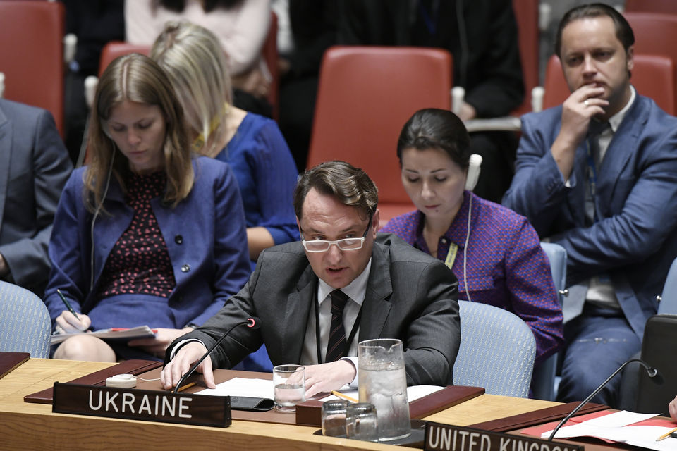 Statement by Mr. Serhiy Shutenko, International Security Director, MFA of Ukraine, at the UN Security Council Open Debate on Non-proliferation of Weapons of Mass Destruction