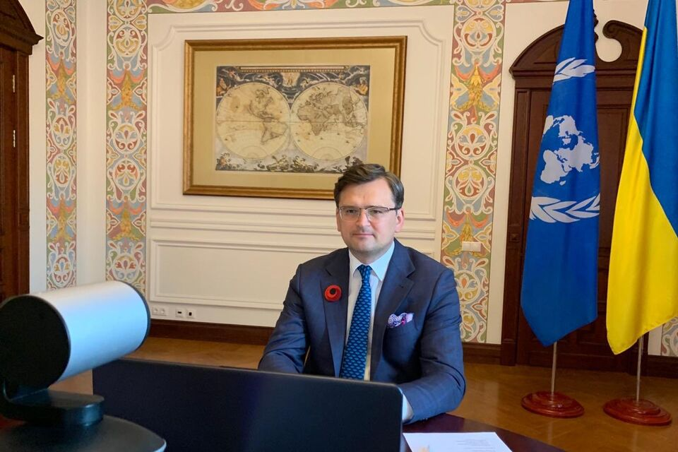 "Statement by H.E. Mr. Dmytro Kuleba, Minister for Foreign Affairs of Ukraine, at the UNSC High-level Arria Formula meeting ""75 Years from the End of the Second World War on European Soil"""