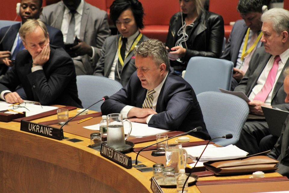 "Statement by Deputy Minister for Foreign Affairs of Ukraine Sergiy Kyslytsya at the UNSC open debate ""Situation in the Middle East, including Palestinian question"""