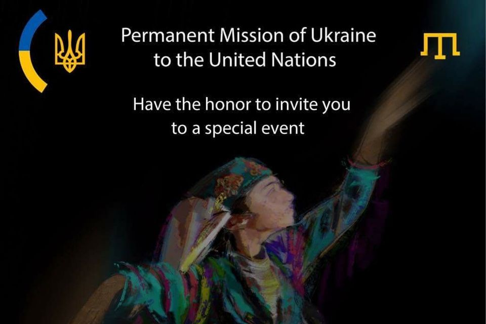 "Special event ""Cry of the Indigenous Crimean Tatars in the occupied Crimea"""