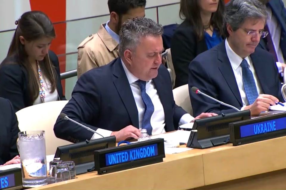 Statement by H.E. Mr. Sergiy Kyslytsya, Deputy Minister of Foreign Affairs of Ukraine, at the UNSC Arria-formula meeting on the Russian occupation of Crimea