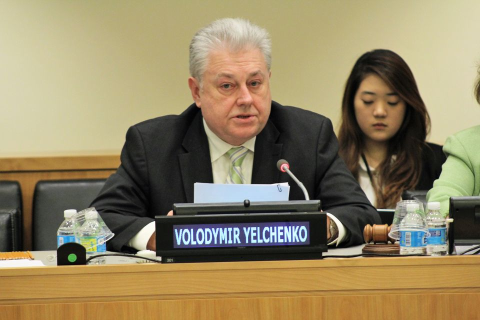 "Opening remarks by Ambassador Volodymyr Yelchenko at the 26th International Conference ""Health and Environment: the Oceans and Us"""