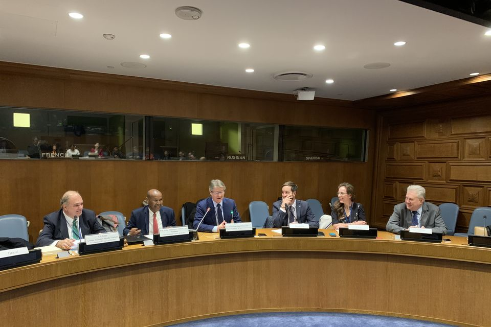 Ukraine together with The Hague Academy of International Law and a group of member states organized the side event at the UN headquarters to discuss the Peaceful Settlement of International Disputes
