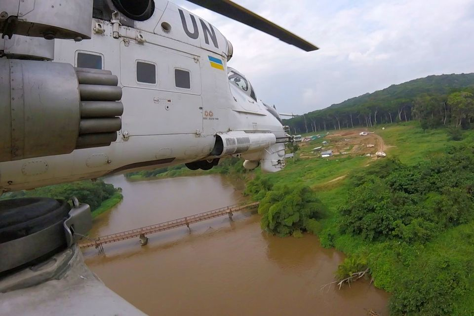 Ukrainian national contingent is an effective instrument for force displacement of United Nations stabilization Mission in DR Congo