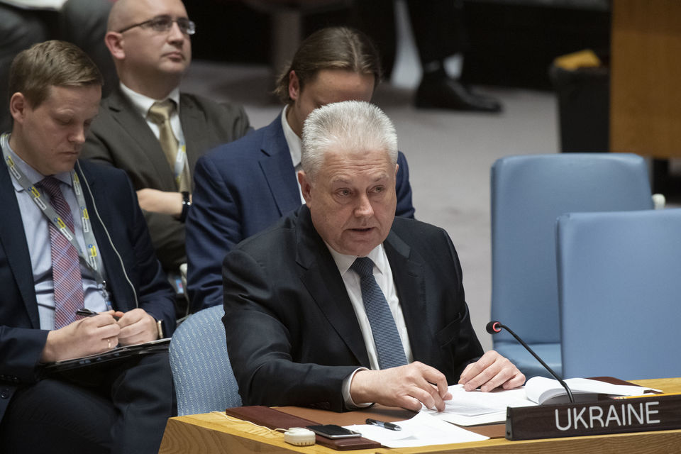 Statement by Ambassador Volodymyr Yelchenko, Permanent Representative of Ukraine to the United Nations, at the UN Security Council meeting on the situation in Ukraine