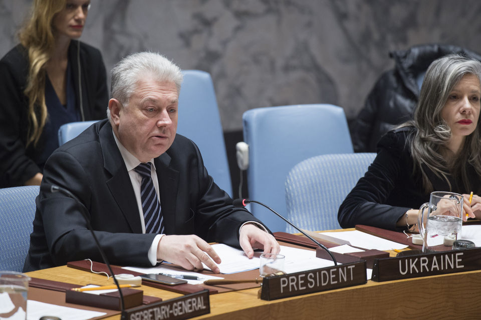 Statement by Volodymyr Yelchenko, Permanent Representative of Ukraine to the UN, at the UN Security Council briefing on the situation in Ukraine