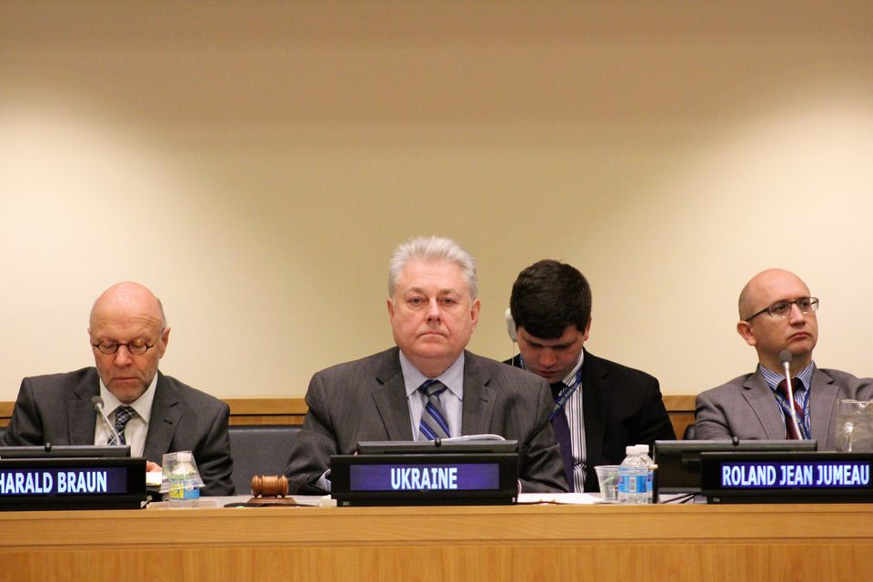 Opening Remarks by Permanent Representative of Ukraine to the UN, Ambassador Volodymyr Yelchenko at the UNSC Arria-formula meeting: Security Implications of Climate Change: Sea-level Rise