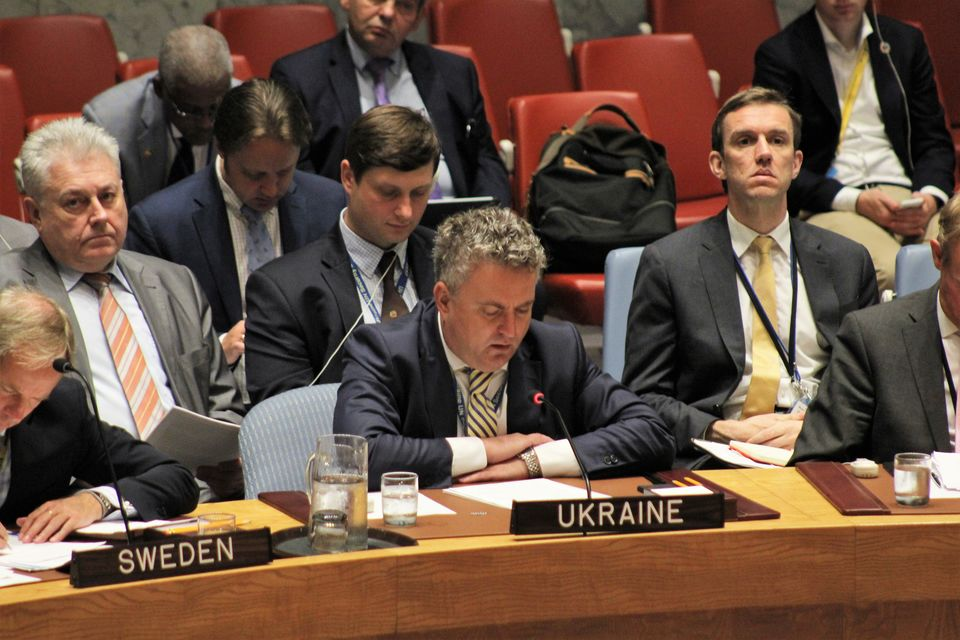 Statement by Mr. Sergiy Kyslytsya, Deputy Minister for Foreign Affairs of Ukraine, at the UNSC Open Debate On Enhancing African Capacities in the Areas of Peace and Security
