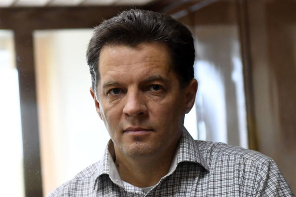 Case of Ukrainian journalist Roman Sushchenko unlawfully detained in the Russian Federation