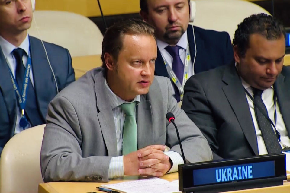 Statement by the delegation of Ukraine at the UNSC Arria-formula meeting on advancing the safety and security of persons belonging to religious minorities in armed conflict