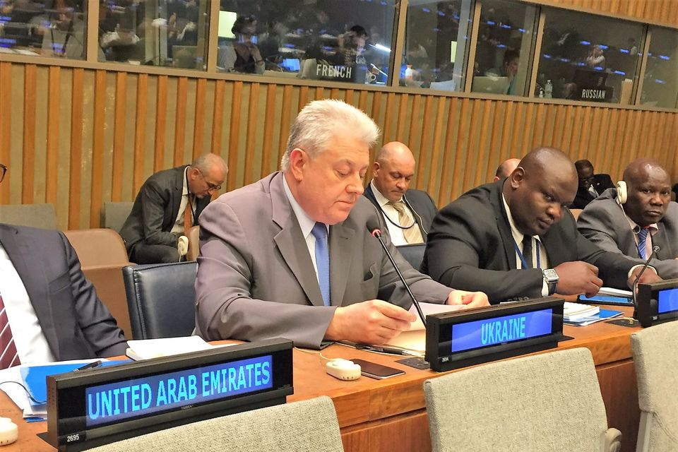 Statement by the delegation of Ukraine at the Third UN Conference to Review Progress Made in the Implementation of the Programme of Action to Prevent, Combat and Eradicate the Illicit Trade in SALW