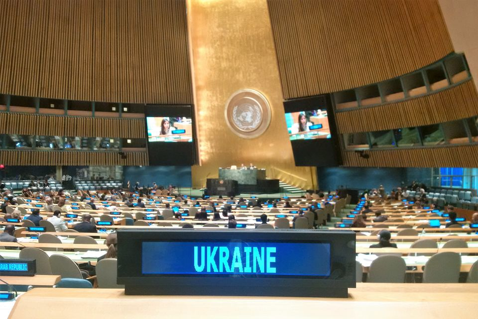 Statement by the delegation of Ukraine in response to the statement by the delegation of Russia at the UNGA general debate